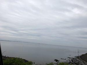 河内方面の海の写真