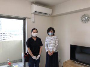熊本市西区のお客様と一緒の写真