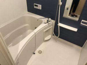 熊本県山鹿市K様邸の浴室クリーニング後の写真