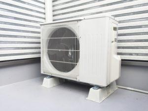 エアコン室外機の写真