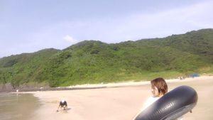 熊本県茂串海水浴場の写真