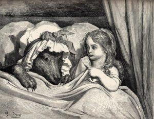 赤ずきんの原作の画像