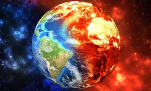 地球温暖化の画像