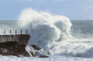 暴風の写真