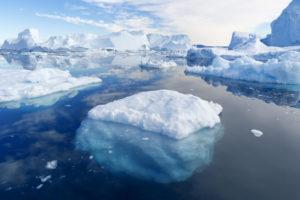 北極海の写真