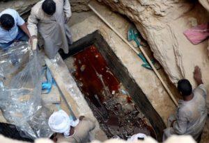 エジプトのお墓の写真